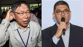 柯文哲,台灣民眾黨,網紅,連勝文(合成圖/資料照)