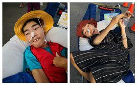 獨自照顧腦癱18年的單親媽媽陳嘉齡,帶兒子至今參加80幾場馬拉松,用雙腳帶他認識台灣。(圖/陳嘉齡授權提供)