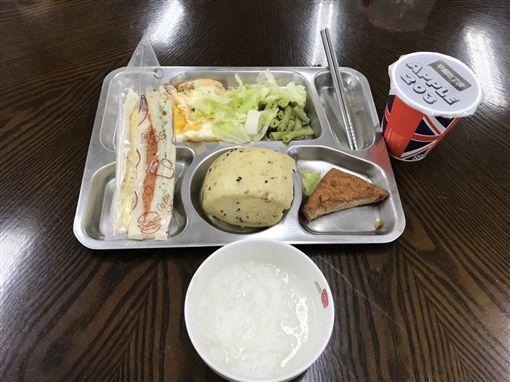 平鎮分局首創『活力』早餐,讓員警吃飽又吃好(圖/平鎮分局提供)