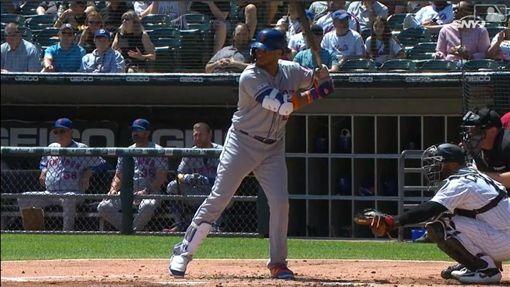 ▲坎諾(Robinson Cano)炸裂本季第10轟。(圖/翻攝自MLB官網)