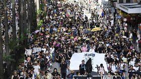 反送中,集會,遊行,警民衝突,遍地開花