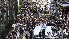 香港,反送中,警民衝突,罷工,不合作運動
