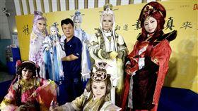 台灣,霹靂布袋戲,桃園機場,精采霹靂文化踩街,視覺饗宴