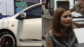 泰國,化妝,汽車旅館,性侵,停車場。(圖/翻攝自Lapaz Cho臉書)