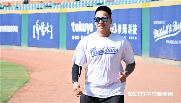 富邦悍將投手陳鴻文。(圖/記者王怡翔攝影)