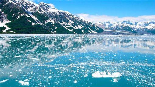 (3遊客集體喪命!遊阿拉斯加冰川湖 疑冰川融化崩落所致)美國,阿拉斯加州,瓦爾狄茲冰川湖(圖/Pixabay)