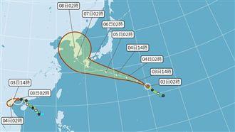 多颱醞釀中 輕颱范斯高侵襲日韓