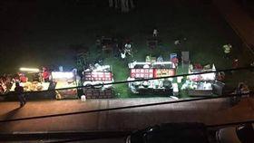 桃園興仁夜市韓粉擾亂。