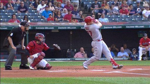 ▲楚奧特(Mike Trout)本季第36號全壘打。(圖/翻攝自MLB官網)