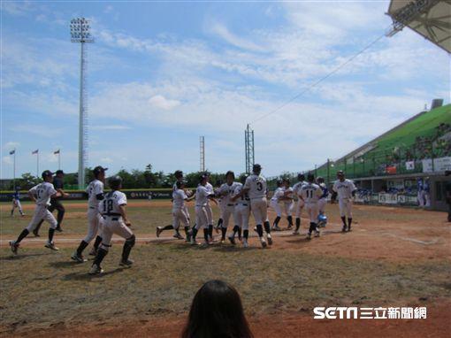 ▲U12日本隊在延長賽逆轉韓國。(圖/記者蕭保祥攝影)