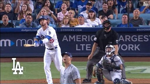 ▲貝林傑(Cody Bellinger)401場比賽敲出生涯百轟。(圖/翻攝自MLB官網)