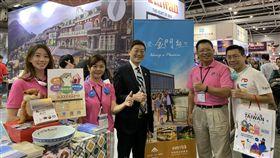 金門,觀光,星加坡,旅展,旅客