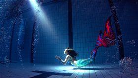 海科館,美人魚,開幕,台灣人魚藝術學院,水中