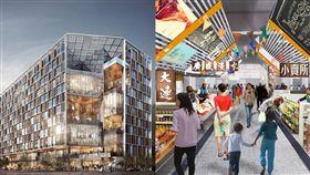 南門市場,設計,搬遷,3D圖,內裝 圖/翻攝九典聯合建築事務所