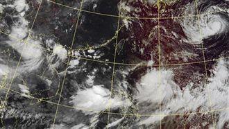 季風低壓多颱共舞 輕颱利奇馬將形成