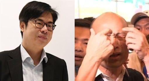 陳其邁,韓國瑜 圖/陳其邁臉書、新聞台