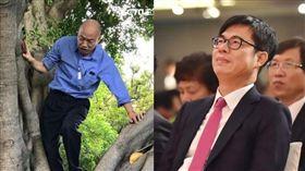 陳其邁,韓國瑜 圖/陳其邁臉書,新聞台