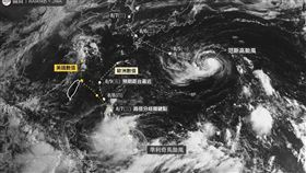 位在菲律賓東方海面上的熱帶性低氣壓,最快在今(4)日下半天生成今年第9號颱風「利奇馬」,臉書專頁《台灣颱風論壇|天氣特急》就指出,根據歐美的主流電腦數值判斷,發現利奇馬的路徑有逐漸「西修」的趨勢,利奇馬暴風圈有機會影響台灣。(圖/翻攝自《台灣颱風論壇|天氣特急》)
