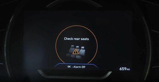 ▲現代後座乘客警示系統(圖/翻攝網路)