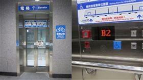 (圖/翻攝自台北捷運官網)無障礙電梯