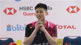 周天成印尼羽球賽男單奪冠周天成21日在2019印尼羽球公開賽奪下男單冠軍,他在賽後記者會謝謝台灣球迷對他的支持,表示他會繼續努力。中央社記者石秀娟雅加達攝  108年7月21日