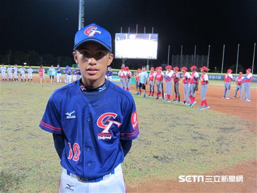 ▲U12台灣隊長黃天賜。(圖/記者蕭保祥攝影)