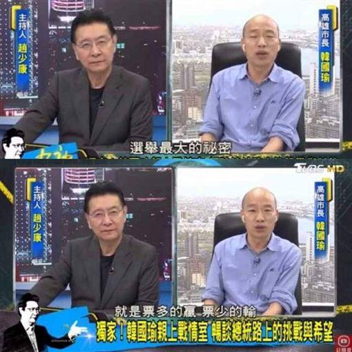被問選戰策略 韓國瑜曝「選舉最大秘密」!館長嗆:講X話圖翻攝自不禮貌鄉民團臉書