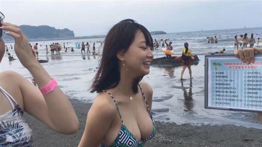 日本,避暑,比基尼,辣妹,新聞