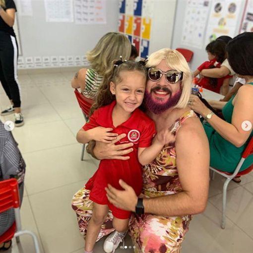 母親節,單親,爸爸,母親,女兒,巴西https://www.instagram.com/danielcorrea69/