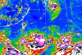 三颱環伺!10號颱風「柯羅莎」最快明生成 未來路徑曝光(圖/中央氣象局)
