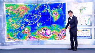 利奇馬龜速 吳德榮:近強颱等級侵台