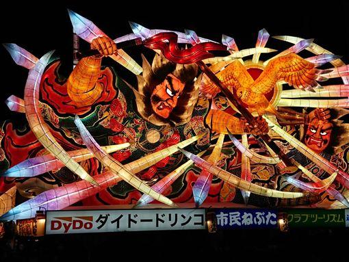 日本,東北,青森睡魔祭,福島大草鞋祭,台灣花燈,觀光