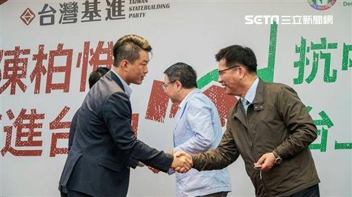 基進黨,民進黨,陳柏惟,顏寬恆,林佳龍,消波塊圖/翻攝林佳龍臉書