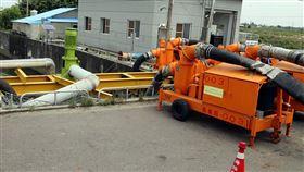 颱風利奇馬,中颱,嘉義縣,抽水機,淹水(來源:中央社)