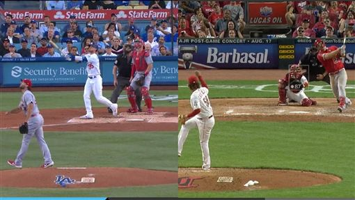 ▲貝林傑(Cody Bellinger)、楚奧特(Mike Trout)同日敲出37轟。(圖/翻攝自MLB官網)