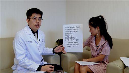 萬芳醫院心臟內科主治醫師邱淳志,心肌梗塞