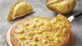 必勝客,榴槤披薩,肯德基。(圖/業者提供)