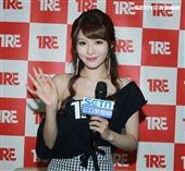 AV女優相澤南接受三立新聞網專訪。(記者邱榮吉/攝影)