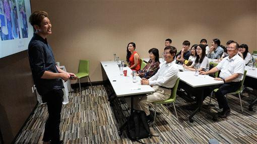 僑委會,台灣青年海外搭僑計畫,認識美國,國際,交流(圖/中央社)