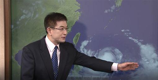 氣象局 氣象局簡任技正謝明昌 利奇馬 西北颱