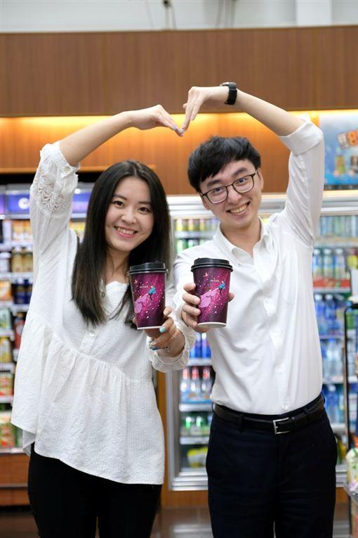 七夕情人節,超市