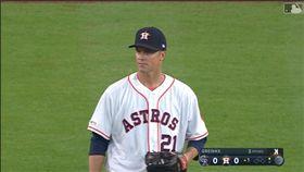 ▲葛蘭基(Zack Greinke)太空人首戰6局挨轟失5分。(圖/翻攝自MLB官網)