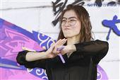 羅小白參加韓國公演慶典活動 。(圖/記者林士傑攝影)