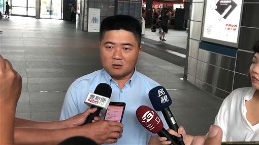 陳柏惟,顏寬恒,韓國瑜,參選總統,阻止(圖/中央社)