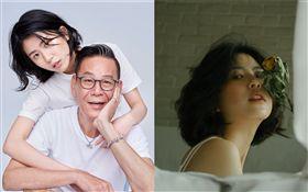 龍劭華跟女兒陳璇合作替家具品牌拍微電影廣告。寶麗來國際娛樂股份有限公司提供/臉書