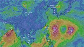 利奇馬 圖/翻攝自天氣與氣候監測網