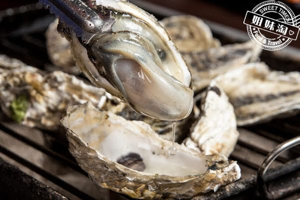 進吉泰國蝦海鮮炭烤吃到飽烤牡蠣