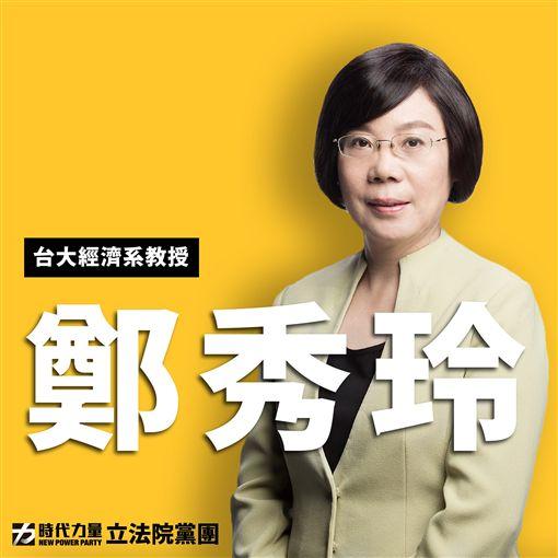 台大經濟系教授鄭秀玲 圖/翻攝自時代力量黨團臉書