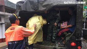 利奇馬,強颱,撤離,新竹,翻攝畫面