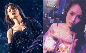 重金屬搖滾團體「閃靈」團長Doris曬出女友視角照。臉書